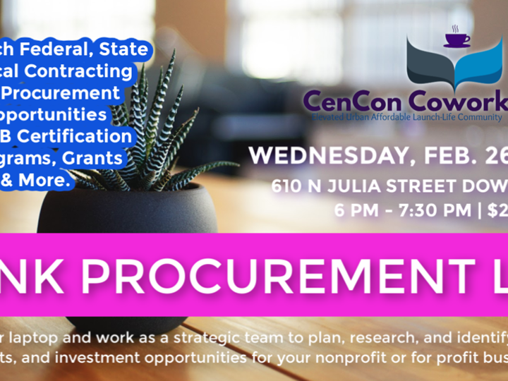 PINK (Procurement Information you Need to Know) PROCUREMENT LAB